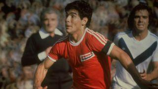 Young Diego Maradona Argentinos Juniors