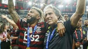 Gabigol Jorge Jesus Flamengo 04 12 2019