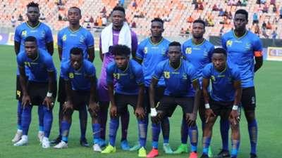 Tanzania squad.