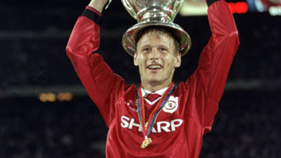 Teddy Sheringham Manchester United Champions League 1999