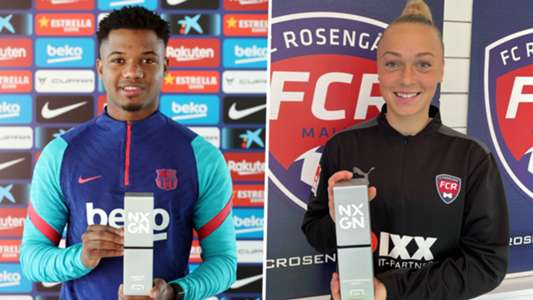 Fati and Bennison crowned winners of NXGN 2021 as football's best wonderkids