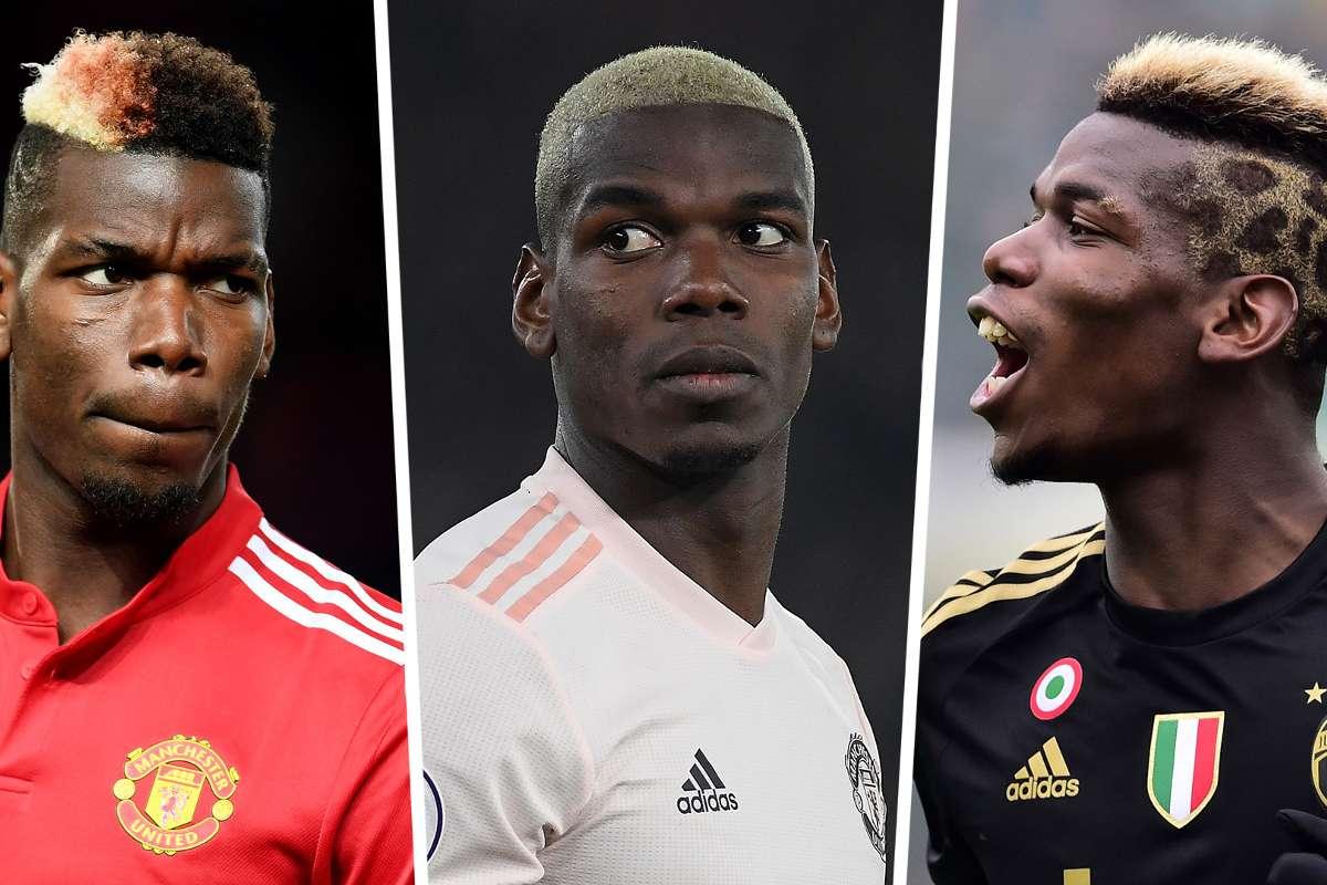 Paul Pogba Haircuts Man Utd Star S Styles Who Cuts His Hair