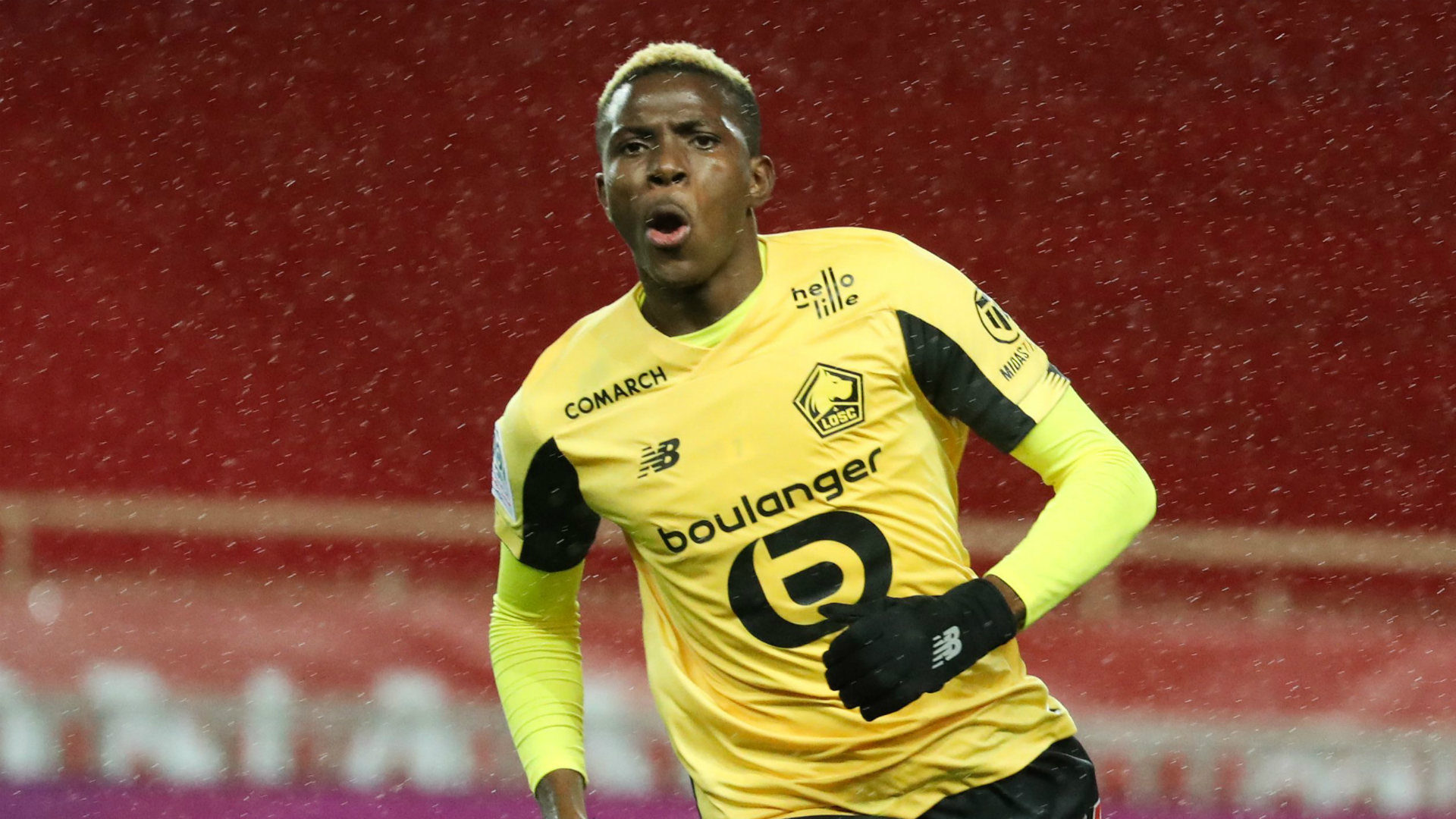 Osimhen seals Lille's comfortable French Cup passage
