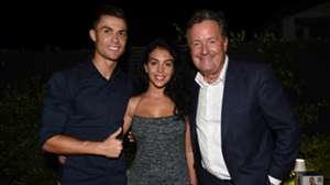 Cristiano Ronaldo Georgina Rodriguez Piers Morgan 2019