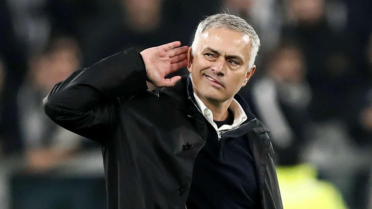 Jose Mourinho Juventus Manchester United Champions League 2018-19