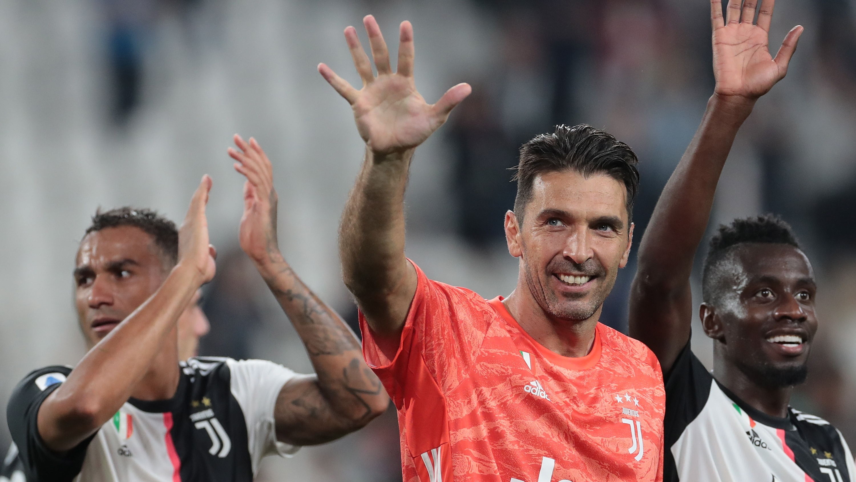 Buffon explains 'natural' decision to rejoin Juve from PSG says he has no plans to retire yet