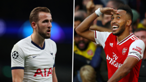 Harry Kane Tottenham Pierre-Emerick Aubameyang Arsenal 2019-20