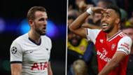 Harry Kane Tottenham Pierre-Emerick Aubameyang Arsenal 2019-20