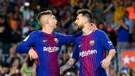 Gerard Deulofeu Lionel Messi Barcelona