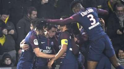 Nantes PSG Ligue 1 14012018