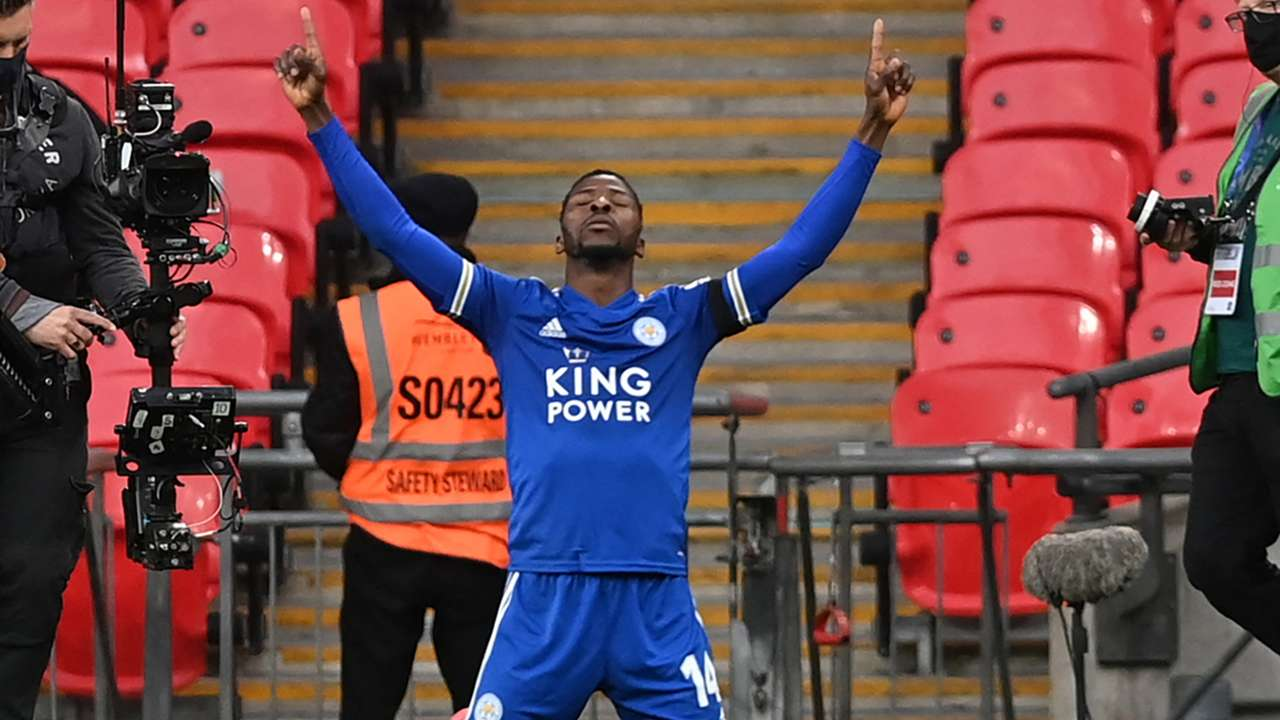 Kelechi Iheanacho of Leicester