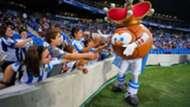 Real Sociedad newest mascot, Txurdin