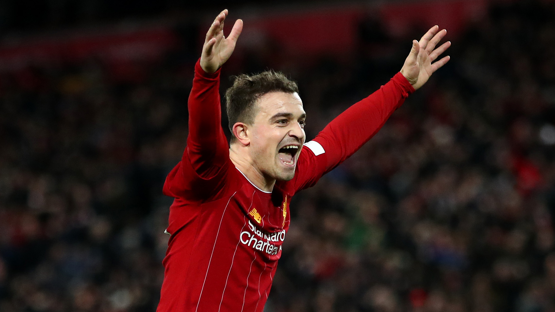Liverpool reject Roma & Sevilla loan offers for Shaqiri