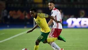 South Africa v Morocco July 2019 Percy Tau