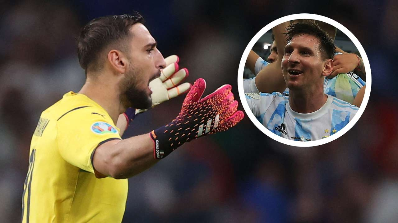 Gianluigi Donnarumma Lionel Messi