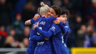 Sam Kerr and Bethany England Chelsea Women