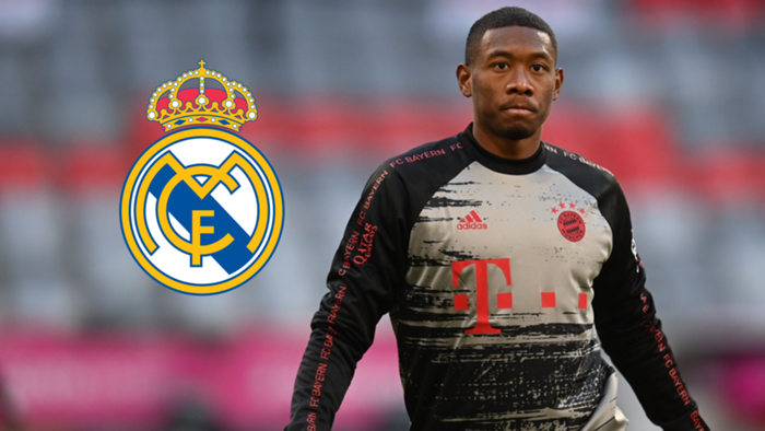 David Alaba Bayern Real Madrid