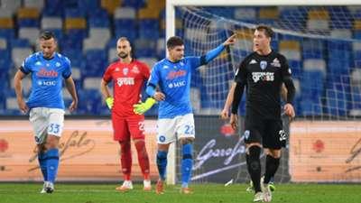 Giovanni Di Lorenzo Napoli Empoli Coppa Italia