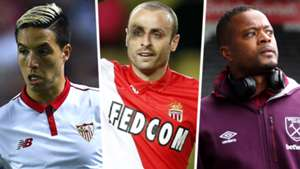 Samir Nasri Dimitar Berbatov Patrice Evra Football Manager 2019 free agents