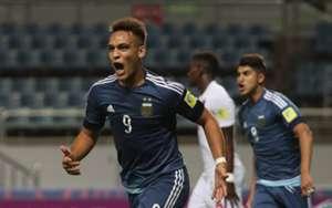 Lautaro Martinez U20 Argentina U20 Guinea FIFA U-20 World Cup 2017