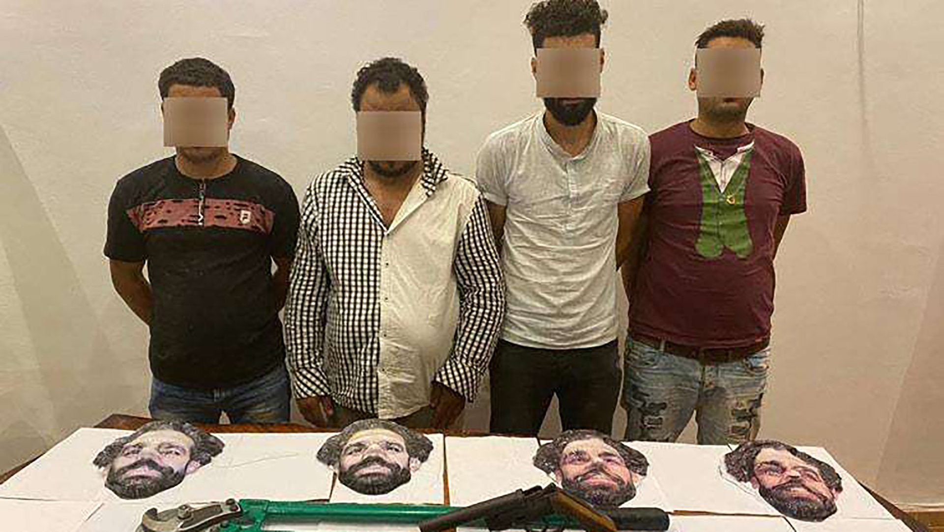Salah mask-wearing robbers caught by Egyptian police