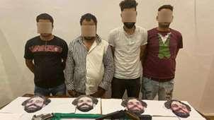 Mohamed Salah mask gang Egypt