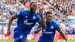 Salif Sane and Rabbi Matondo Baba - Schalke 2019-20