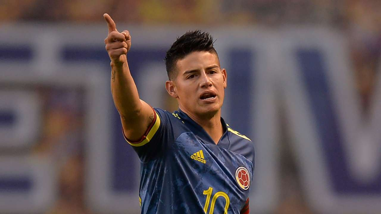 James Rodriguez Colombia 2020
