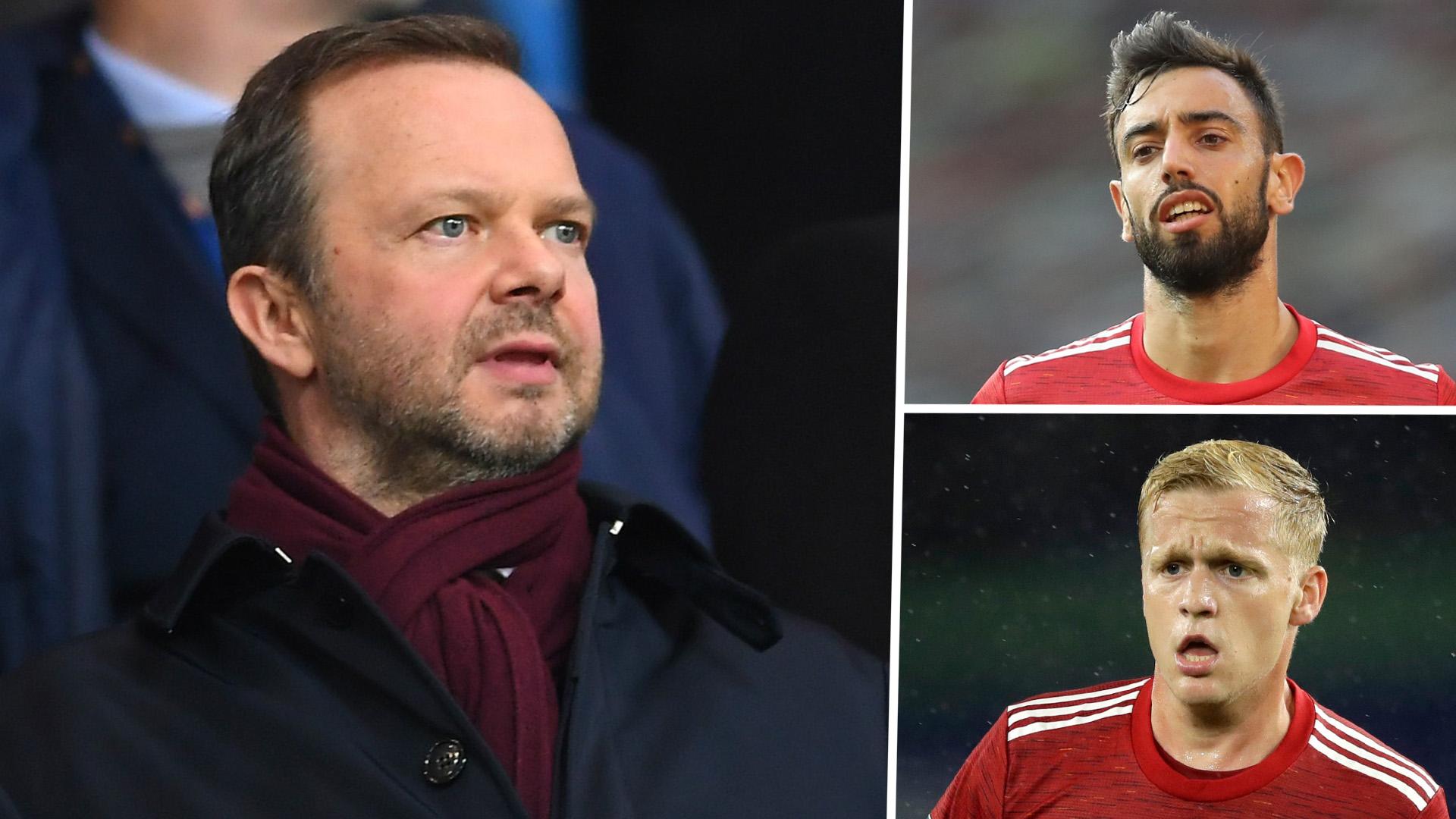 'We've spent more than any other European club!' - Woodward defends Man Utd's transfer activity backs Solskjaer