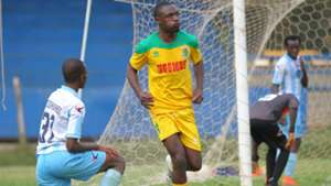 Clifford Alwanga of Mathare United v Thika United.
