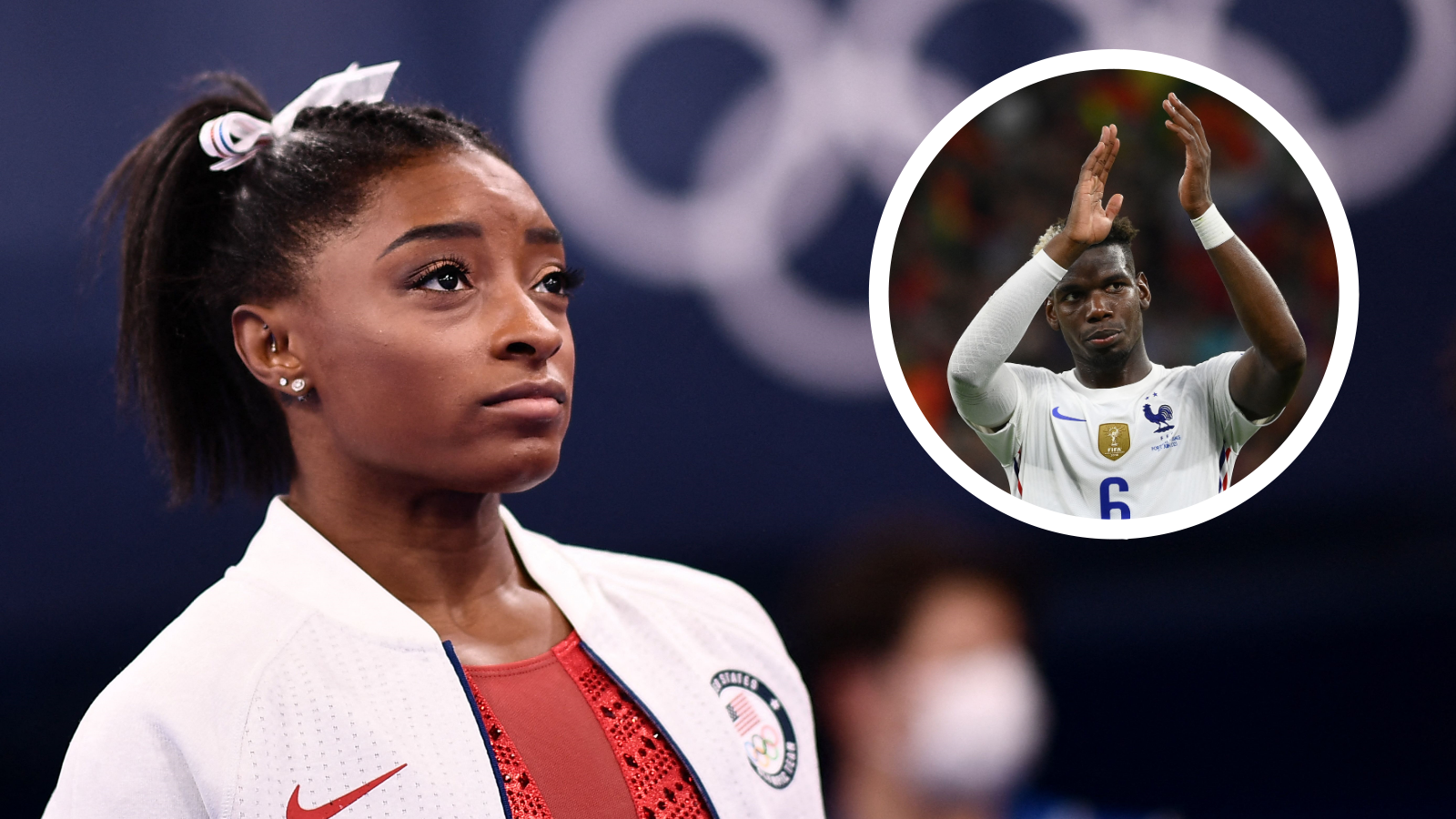 'A moment of undeniable strength' – Pogba backs Biles over mental health admission at Olympics