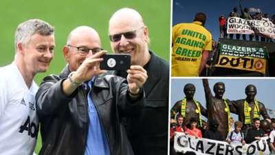 Glazer Family Protests Manchester United GFX