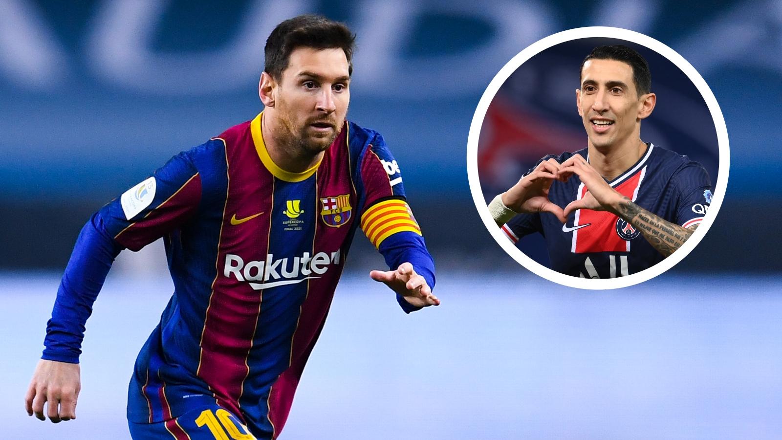 Di Maria airs Messi wish amid PSG transfer talk for Barcelona superstar