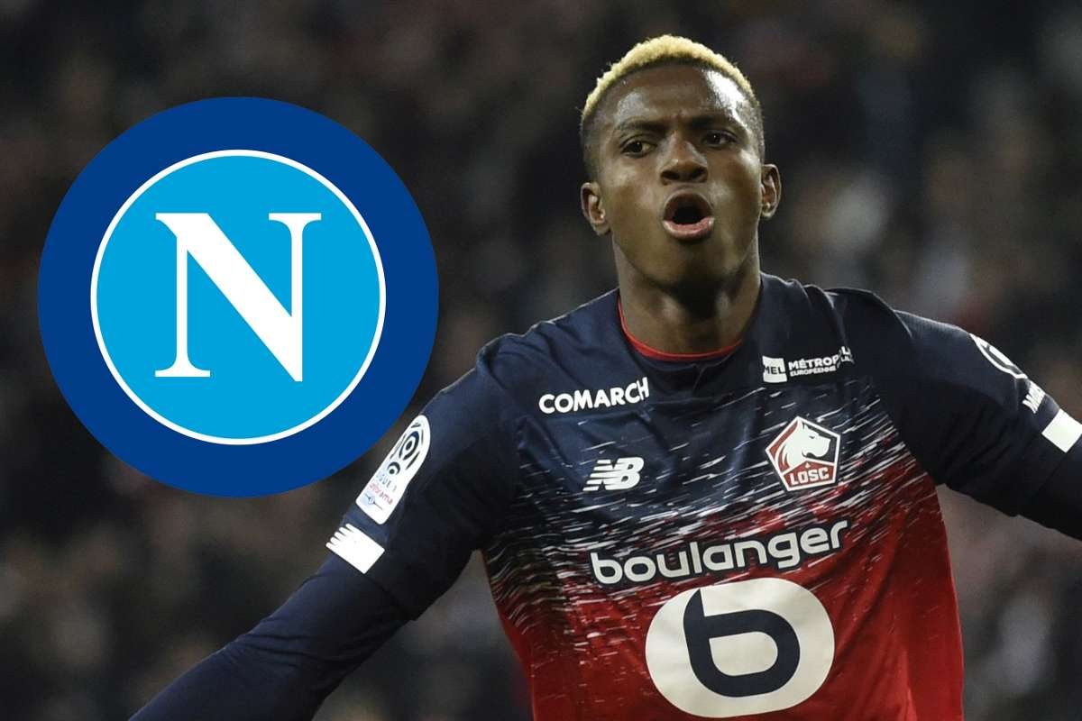 Napoli Confirm 50m Osimhen Signing From Lille Goal Com