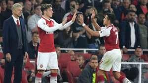 Mesut Ozil, Alexis Sanchez, Arsene Wenger, Arsenal, 17/18