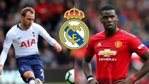 Eriksen Pogba Real Madrid