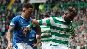 James Tavernier, Moussa Dembele, Celtic vs Rangers