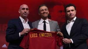 Rubiales, Luis Enrique y Molina, España