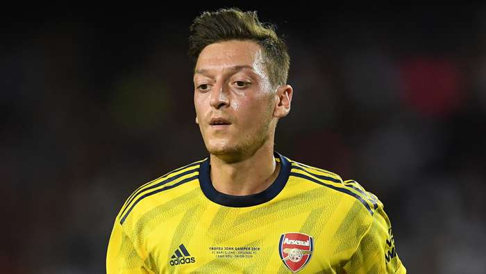 Mesut Ozil Arsenal 2019