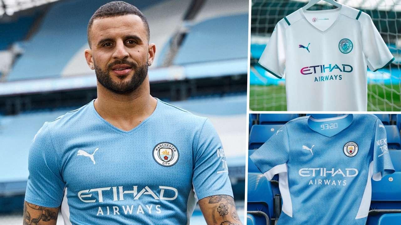 Man City home away kit 2021-22 Puma