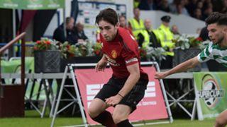 Aidan Barlow Manchester United