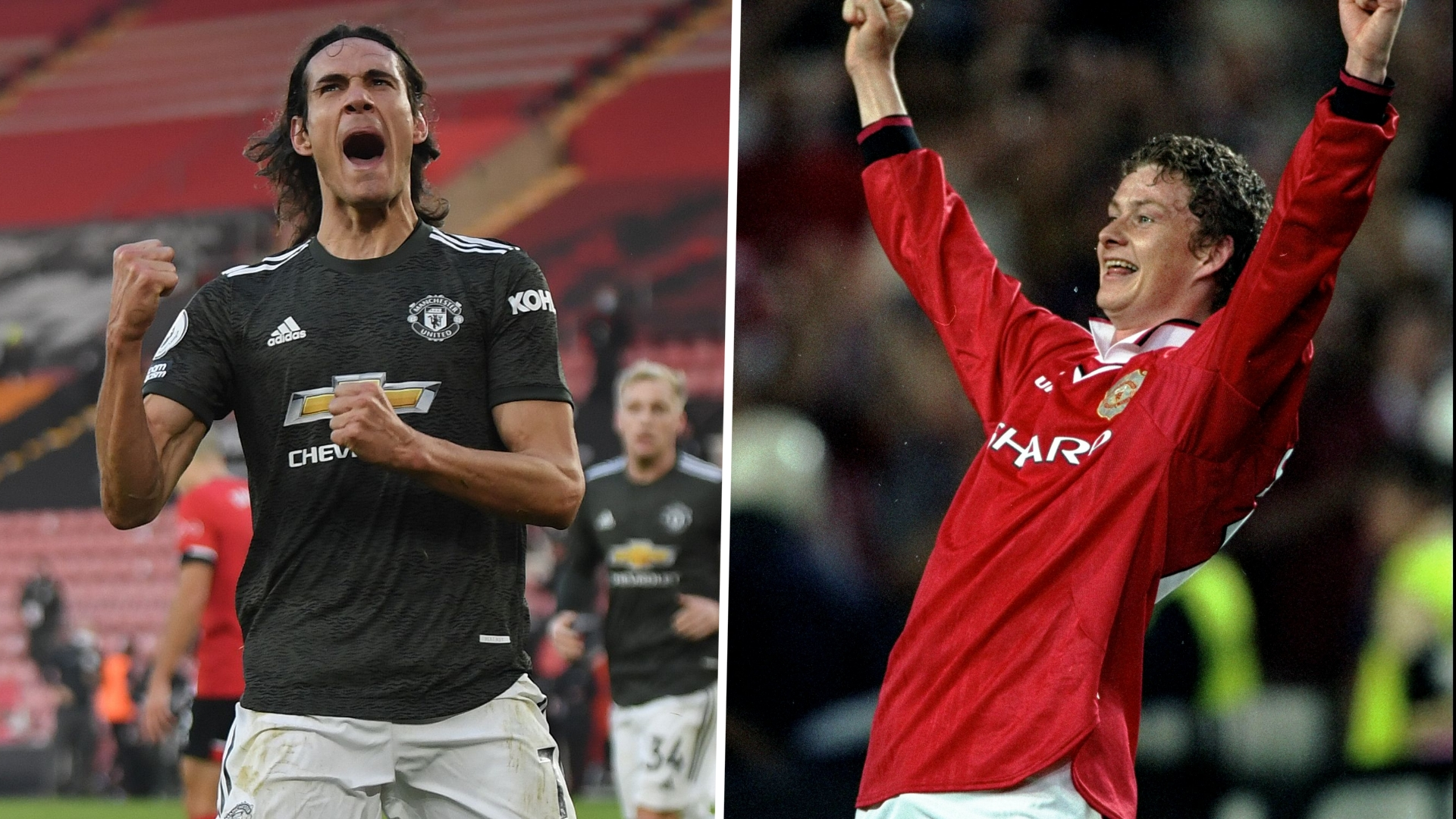 'We're not the same, I always had studs on!' – Solskjaer pokes fun at Manchester United's new super sub Cavani