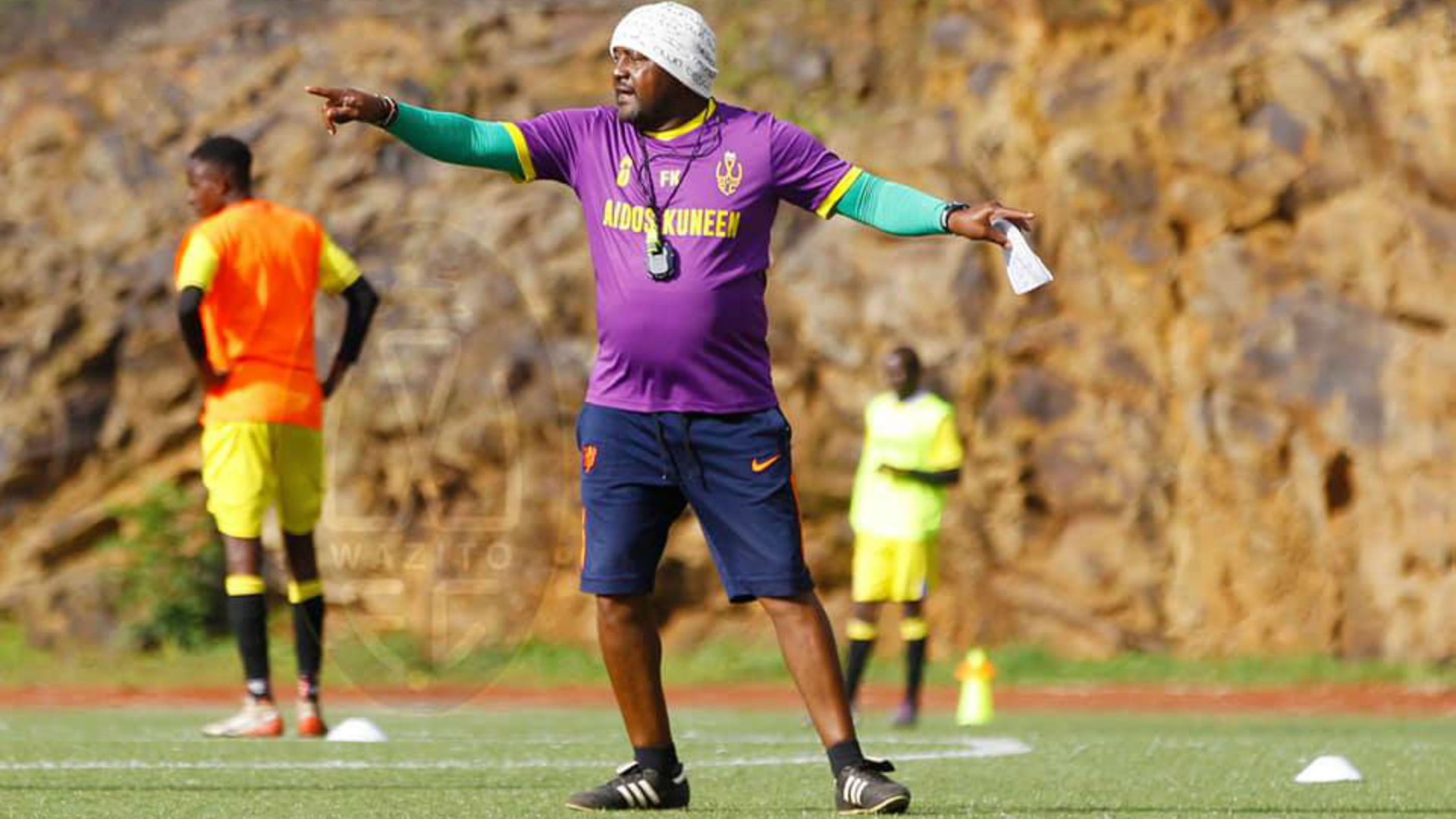 Wazito FC coach Kimanzi: I am not special