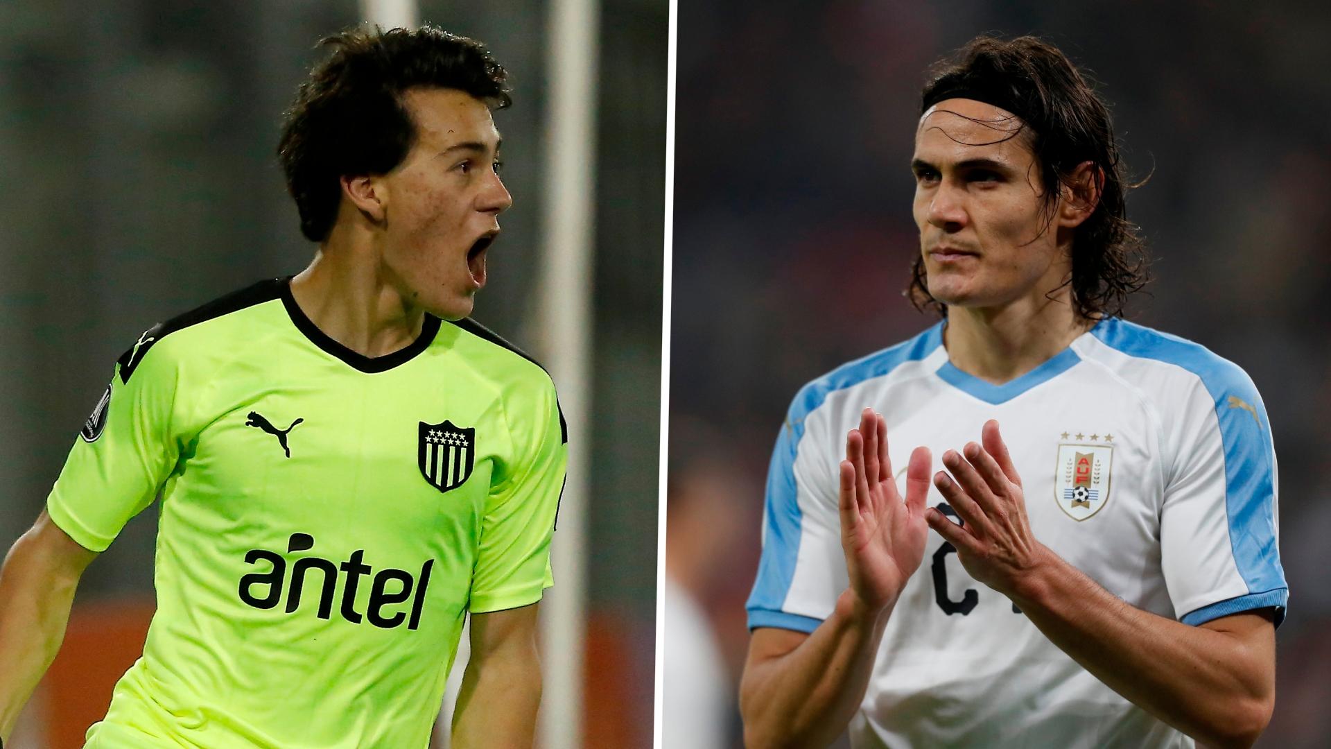 'All the time I speak with Cavani' - Man Utd wonderkid Pellistri says fellow Uruguayan has helped him settle