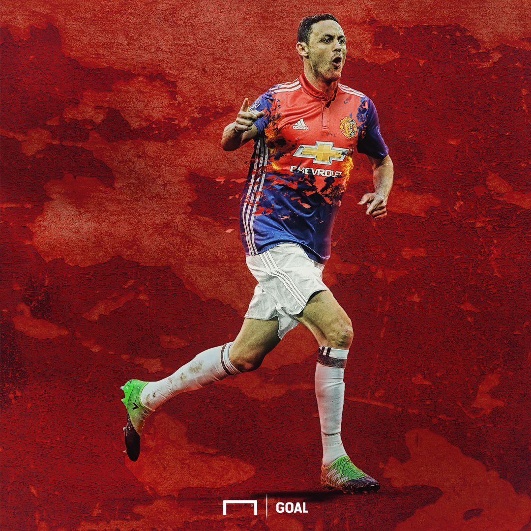 EMBED ONLY Nemanja Matic Manchester United
