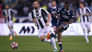 Higuain Bastos Juventus Lazio Coppa Italia