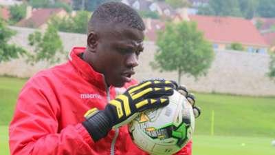 Patrick Matasi keeper for Harambee Stars.