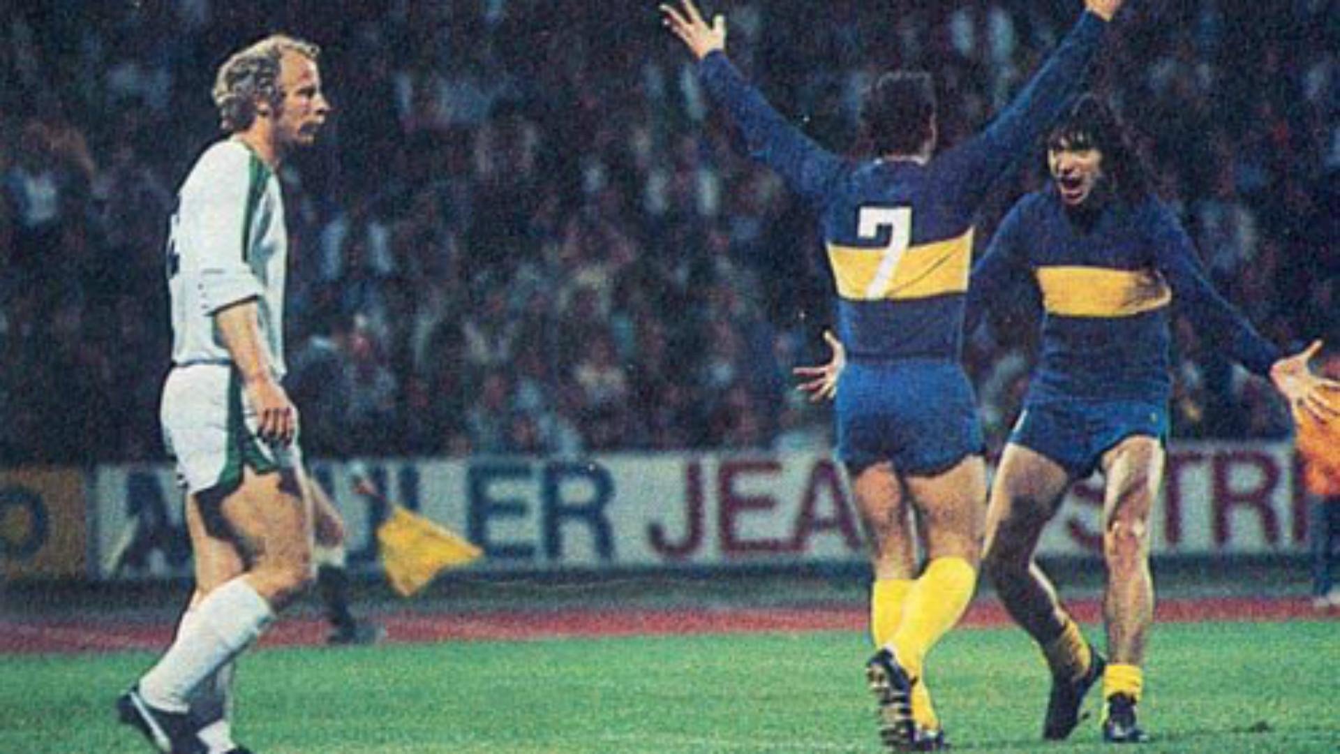 Boca Juniors Borussi Monchengladbach Copa Intercontinental 1977