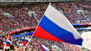 Russia flag, World Cup 2018