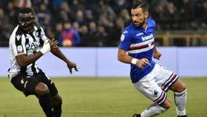 Quagliarella Samp Udinese